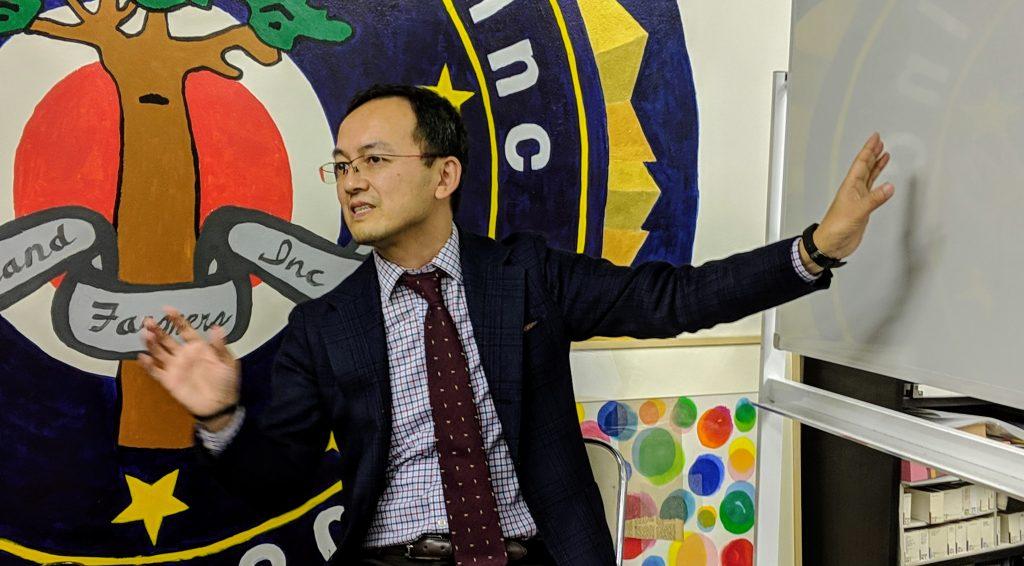 「リクナビHRTech転職スカウト」というサービスについて語る藤井氏