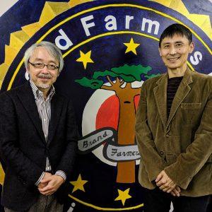 安田氏と小阪氏(左)