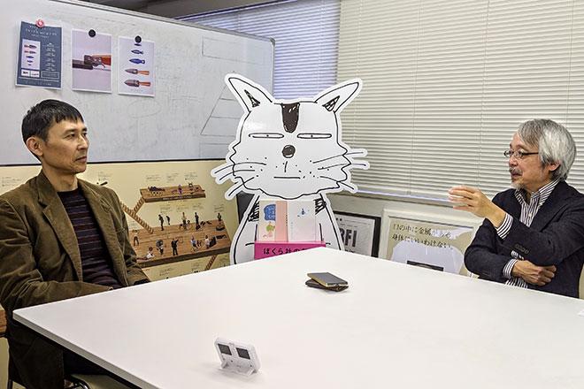 安田氏と対談する小阪氏