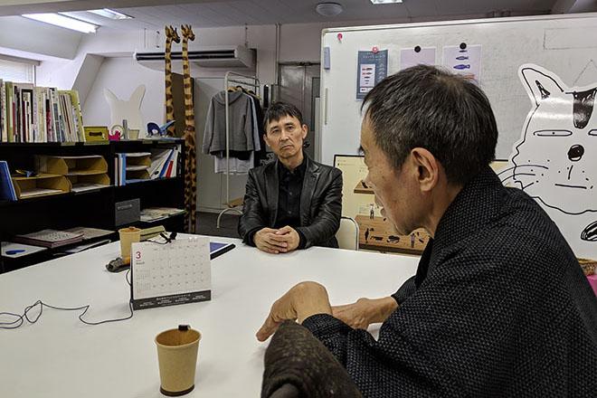 安田氏と対談する甲野氏