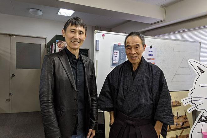 安田氏と甲野氏